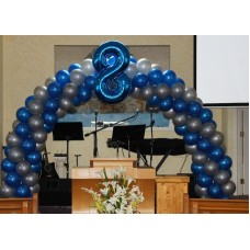 Balloon Arch -  2 Colors  - Online Class