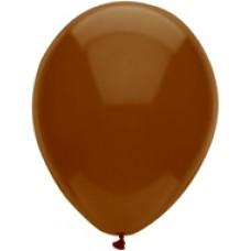 """Brown Chestnut Latex Balloon 11"""""""
