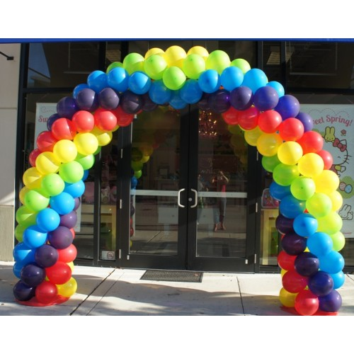 Balloon arch ideas for Balloon decoration arches