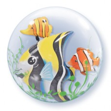 Seaweed Tropical Fish Double Bubble 24""