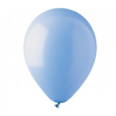 Blue Light Standard Latex Balloon 12""