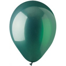 Green Emerald Crystal Latex Balloon 12""