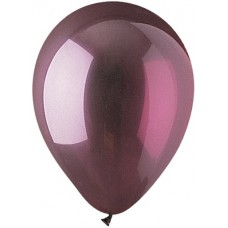 "Burgundy latex balloon 12"""