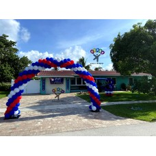 Outdoor Balloon Arch Standard Size