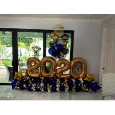Graduation Balloon Decor Arrangement