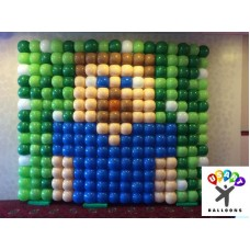 Balloon Wall Miniecraft