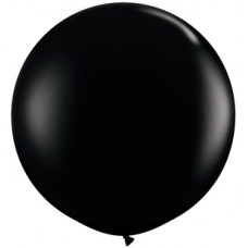 Black Onyx Giant Latex Balloon 36""