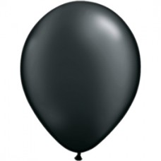 Black Onyx PEARL Latex Balloon 11""