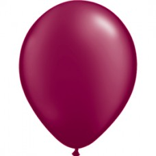 Burgundy Sparkling Latex balloon Qualatex 11""