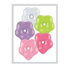"Geo Blossom latex Balloon Qualatex 6"""