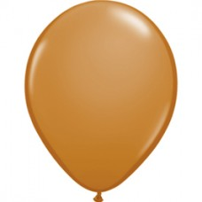 Brown Mocha Latex Balloon 11""