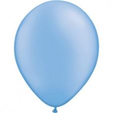 Blue Neon Latex Balloon 11 in