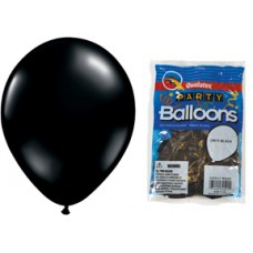 Black Onyx Latex Balloon 11""