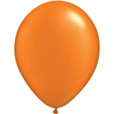 Orange Mandarin Pearl Latex Balloon 5""