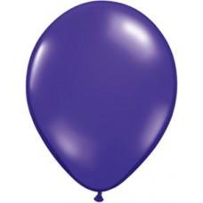 "Quartz Purple Latex Balloon Qualatex 9"""