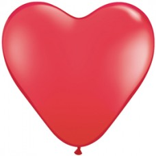 Red Heart Latex Balloon 11""
