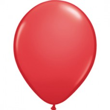 Red Standard Latex  Balloon 11""