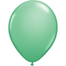 Green Winter Latex Balloon 5""