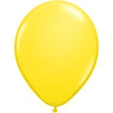 "Yellow Standard Latex Balloon 5"""