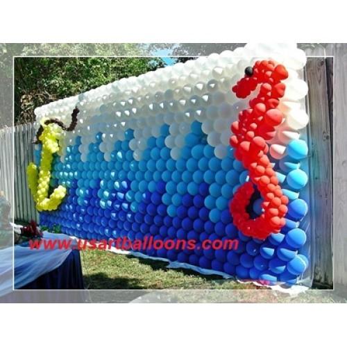 Balloon Wall Decor