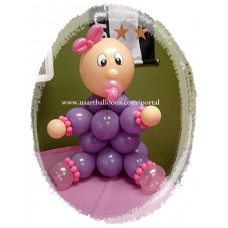 Centerpiece Baby Balloon Design
