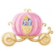 "Princess Cinderella Carriage SuperShape 33"""