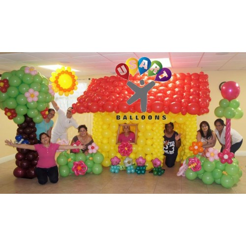 Balloon decorating classes 1 2 for Balloon decoration classes
