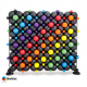 Balloon Wall Vibrant Design