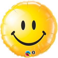 "Smiley Face Yellow 18"""