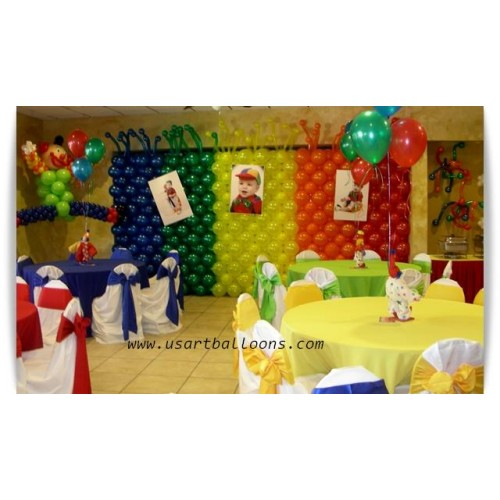Balloon Wall Decor